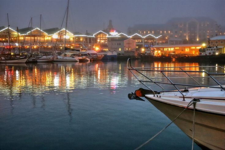 Victoria & Alfred Waterfront, Cape Town, South Africa #travel