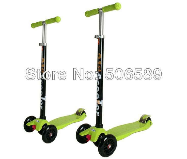 (125.00$)  Buy here - http://aib0w.worlditems.win/all/product.php?id=1045211983 - free shipping children's scooter user age 2-12 years old 3 wheels green pink