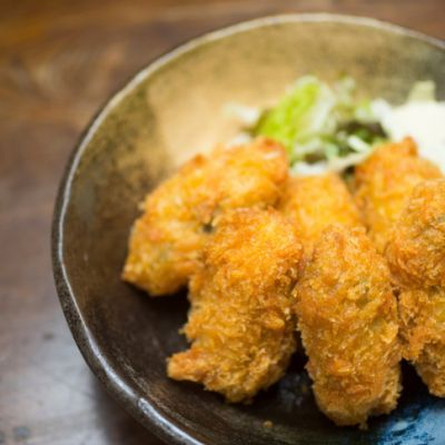 Fried Oysters Recipe! So delicious!  http://www.recipe4living.com/recipes/fried_oysters_recipe.htm