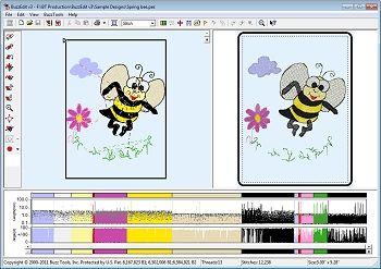 BuzzEdit V3 Editing & Digitizing Embroidery Software