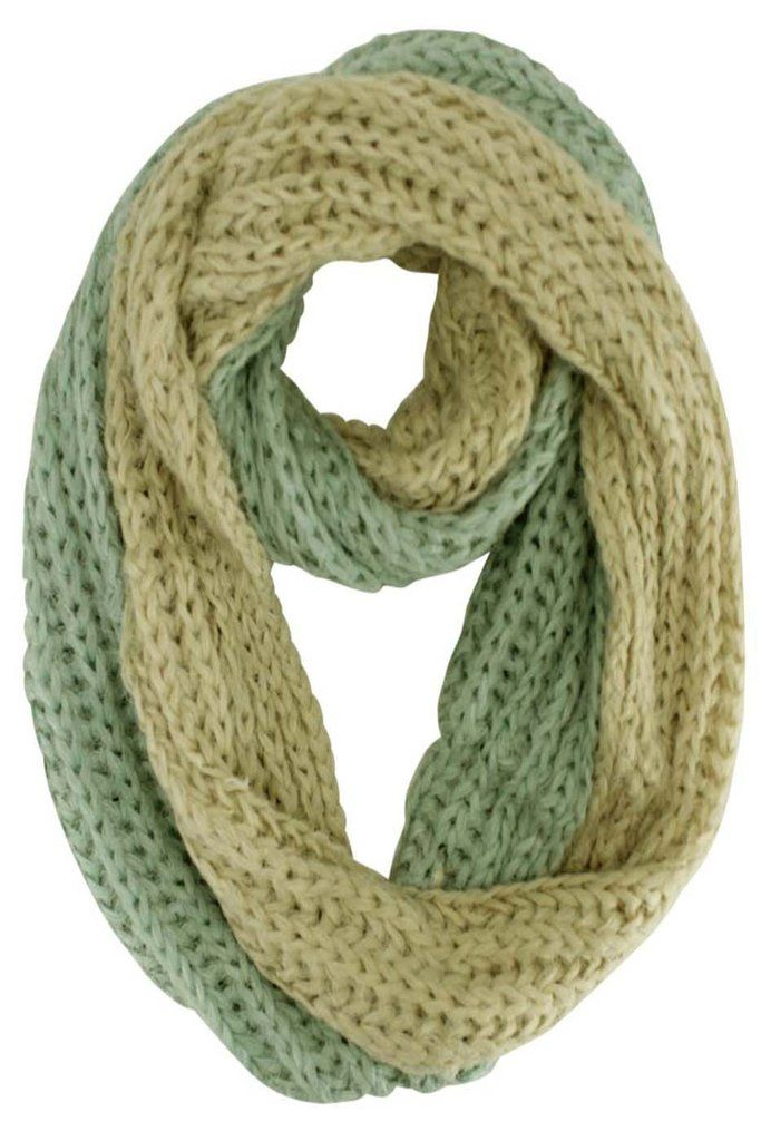 This loose knit scarf is unbelievably soft & stretchy making it easy to  style yet remain