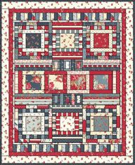 Country Picnic quilt pattern - Green Fairy Quilts