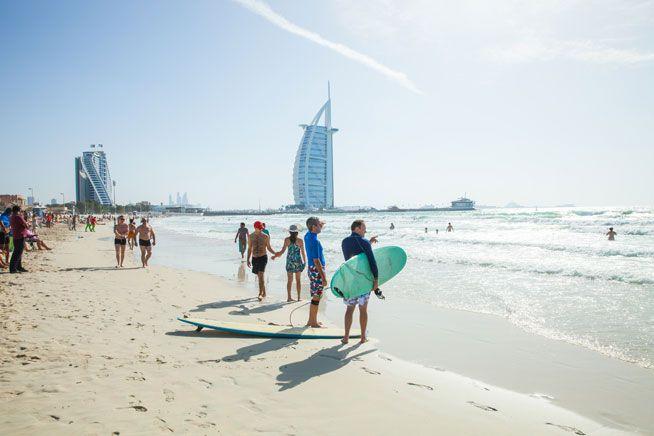 افضل 3 انشطة في شاطئ كايت بيتش دبي Dubai Beach Water