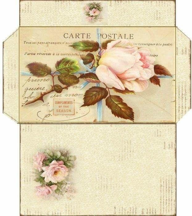 Февраля, распечатать конверт под открытку