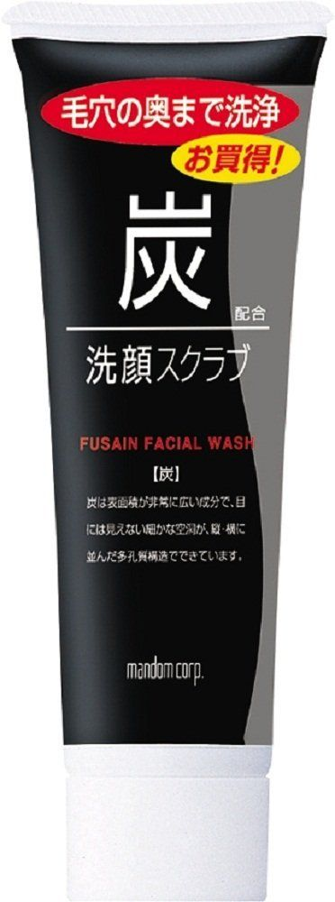 MANDOM Facial Scrub Charcoal, 0.5 Pound >>> To view further, visit now : Face Exfoliators, Polishes and Scrubs