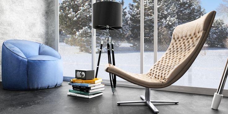 COLD HOUSE, imagem feita com o 3D Max e o V-Ray.