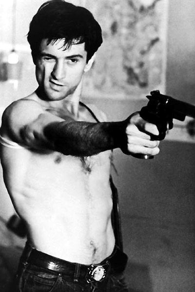 Robert Deniro in The Taxi Driver