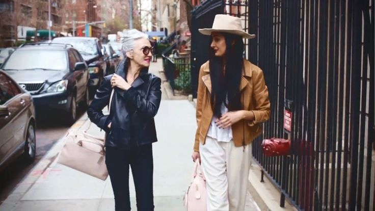 Coach x Advanced Style: FrouFrouu Meets Linda Rodin