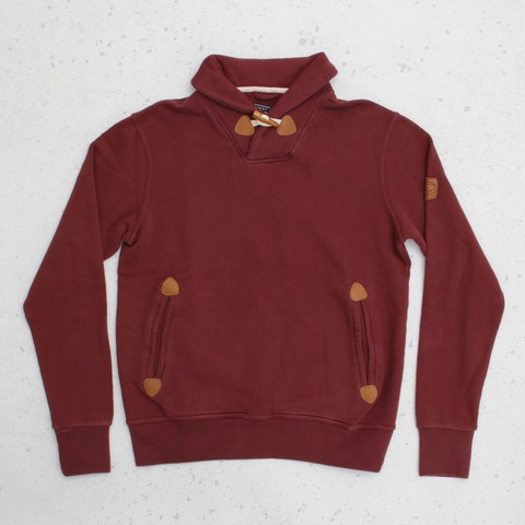 CNCPTS / Penfield Dunstone Sweater (Burgundy)Sweaters Burgundy, Dunston Sweaters, Cncpts, Penfield Dunston, Products