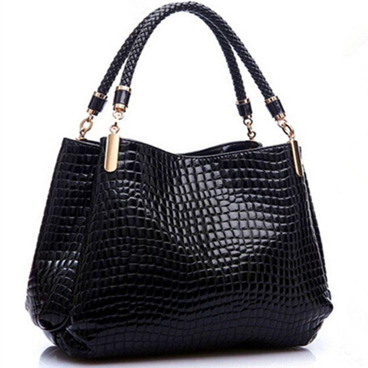 New Designer Brand Alligator Leather Bolsas Femininas Women Bag Fashion Las Pattern Handbag Shoulder Female