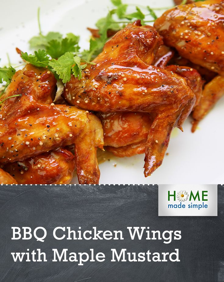 chicken wings bbq wings mustard bbq maple mustard hackman s grilled ...