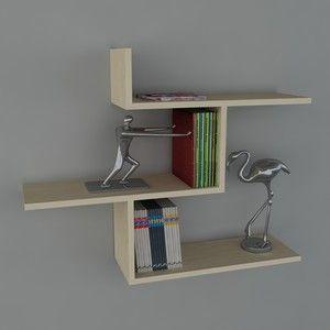 moderné police na knihy - Hľadať Googlom
