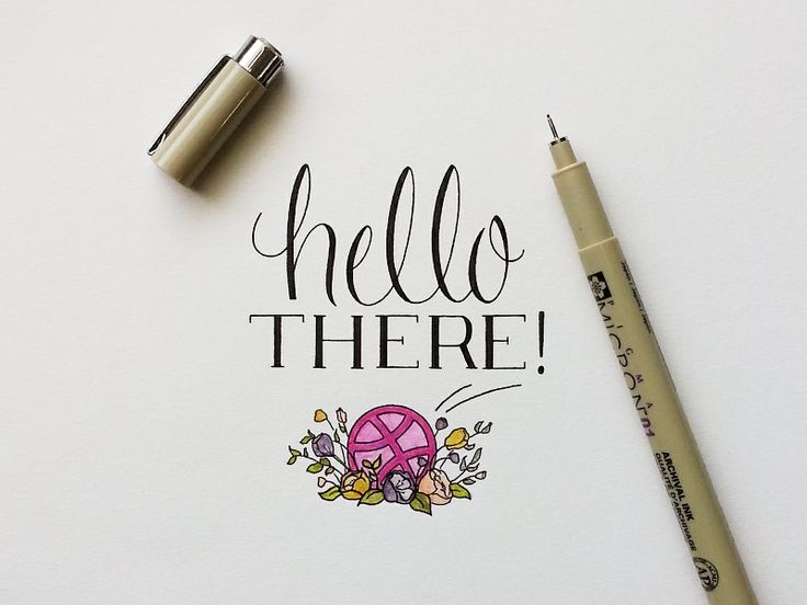 Hello there, Dribbble!