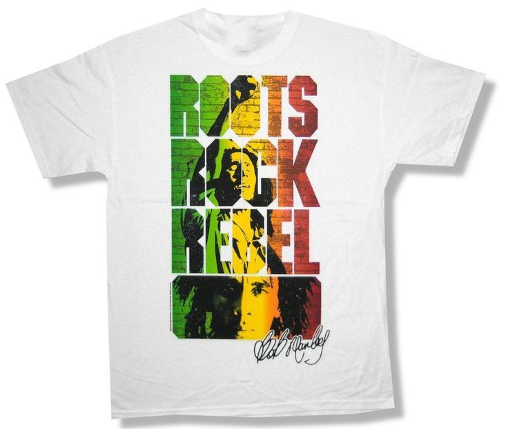 >> Click to Buy << Bob Marley Brick Wall Roots Rock Rebel White T Shirt New Official remeras ajustadas hombre #Affiliate