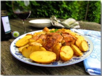 Croatian slow-cooked veal