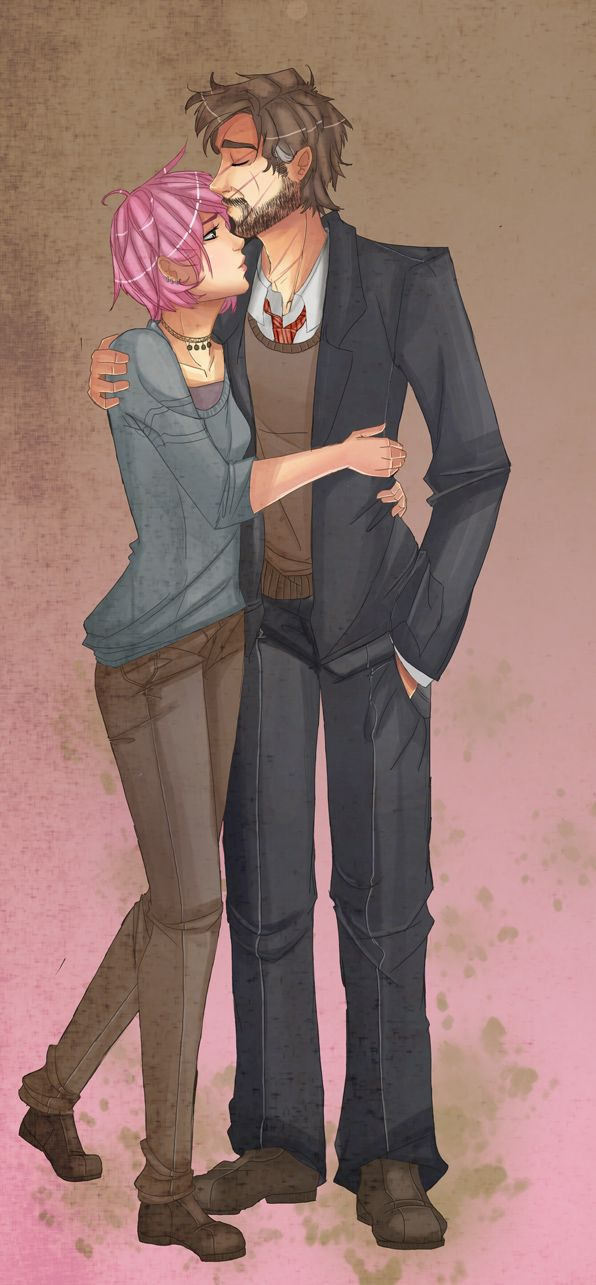 Remus and Tonks. This picture makes me happy and sad at the same time...