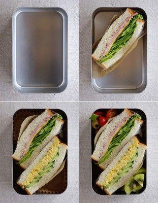 まずここから!基本のお弁当の詰め方~サンドイッチ弁当 | ニュースウォーカー