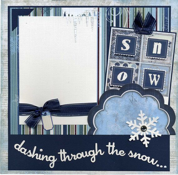 Using the snow from embossing board textured in the back with stamp on the white.