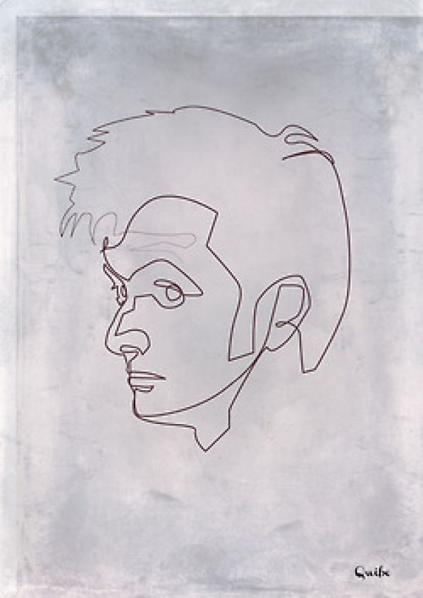 One Liner Jokes About Art : Best images about art single line drawings on