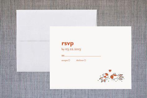 Koi RSVP Cards