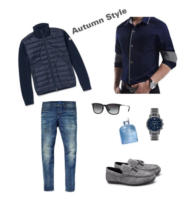 Başlıksız #27 by egezginer on Polyvore featuring polyvore, fashion, style, Moncler, Scotch & Soda, Emporio Armani, Ray-Ban, Dolce&Gabbana and clothing