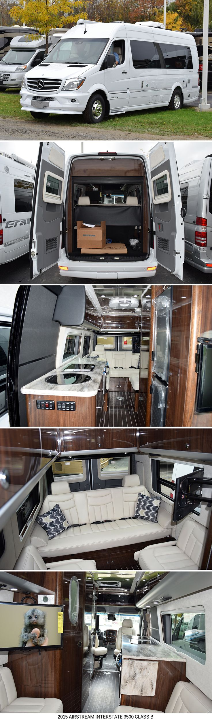 2015 Airstream Interstate GRAND TOUR EXT
