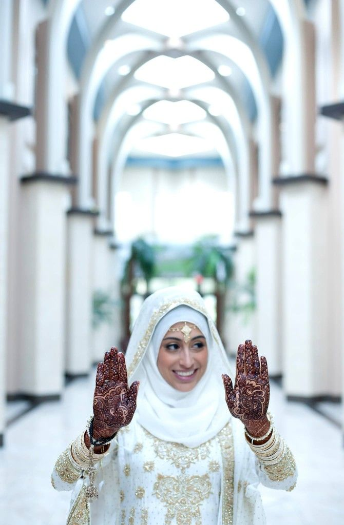 Inspiration for the hijabi brides!