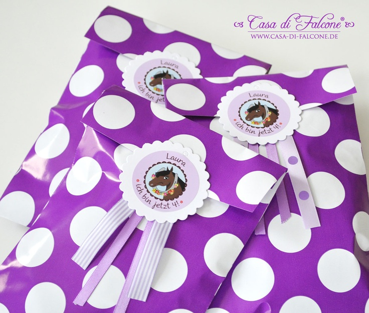 Horse Party Candybags