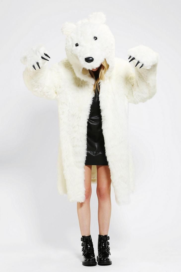 Adult Polar Bear Halloween Costumes