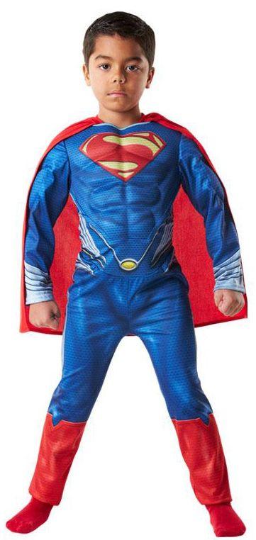 Disfraz de Superman™ Man of Steel musculoso para niños. Disponible en www.vegaoo.es