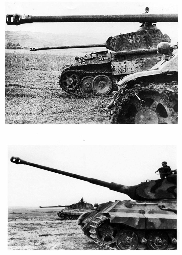 You are the commander of a tank, which of these would be your choice? A pair of Panthers on the Eastern Front in 1944. A pair of Tigers Mailly le Camp, 503rd in 1944.