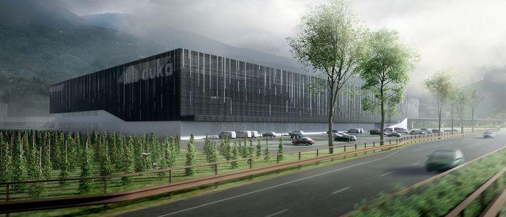 Duka: un nuovo stabilimento verso l'industria 4.0 http://www.design-miss.com/duka-un-nuovo-stabilimento-verso-lindustria-4-0/ Scalinata scenica e lastre trapezoidali per il nuovo stabilimento #duka