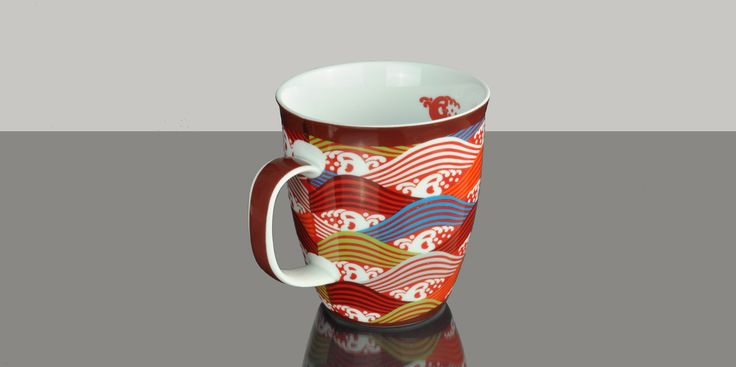 Mug Jumbo Mosaic Wave