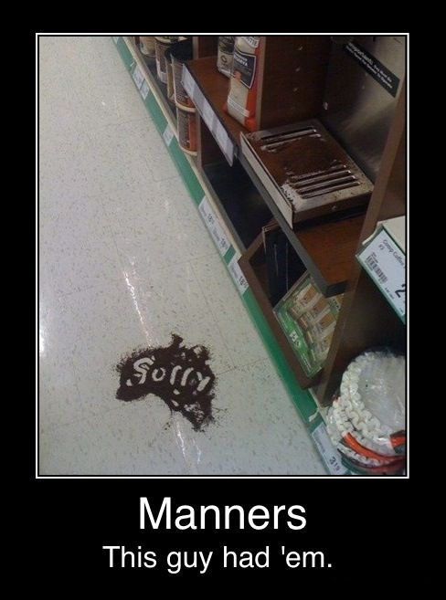 Manners.: Funny Pictures, Coffee, Random, Funny Stuff, Funnies, Humor, Things, Manners
