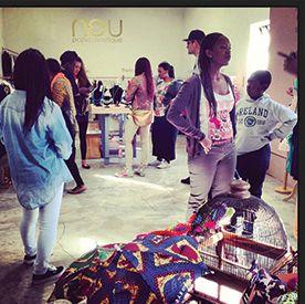 Maboneng Precinct :: Neu pop up botique :: Arts on Main, 264 Fox street, Johannesburg.