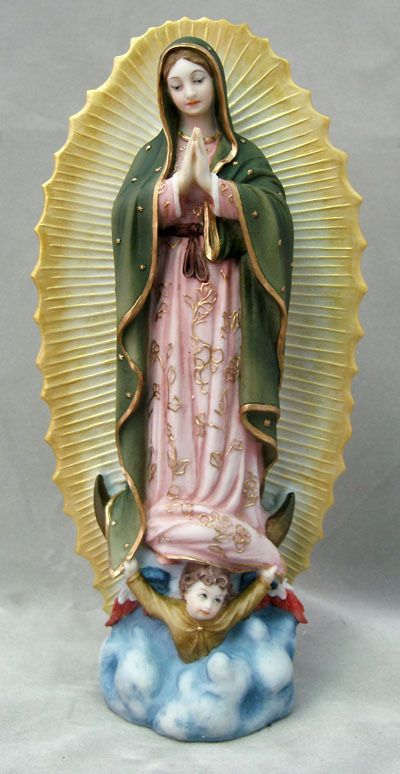 Our Lady Of Guadalupe, Hand Painted