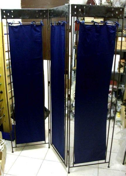 Separe in ferro (Artigianato Marocco, Mobili in ferro) di Artigianato Vulcano, eCommerce specializzato nella vendita di articoli etnici, marocchini e orientali.