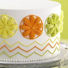 THE WILTON METHOD® : COURSE 1: BUILDING BUTTERCREAM SKILLS You will learn the following techniques: