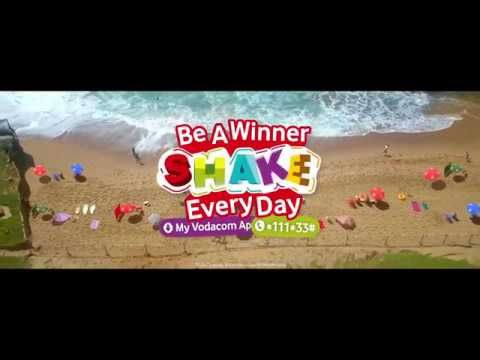 """#AdoftheWeek 1 November 2017: """"Shake it, Vodacom"""" by Oresti Patricios. Vodacom, Ogilvy & Mather South Africa and director Teboho Mahlatsi of Bomb Commercials celebrate its refreshed image with a summer campaign that aims to get mobile users movin', movin' or, rather, shakin', baby, shakin'."""