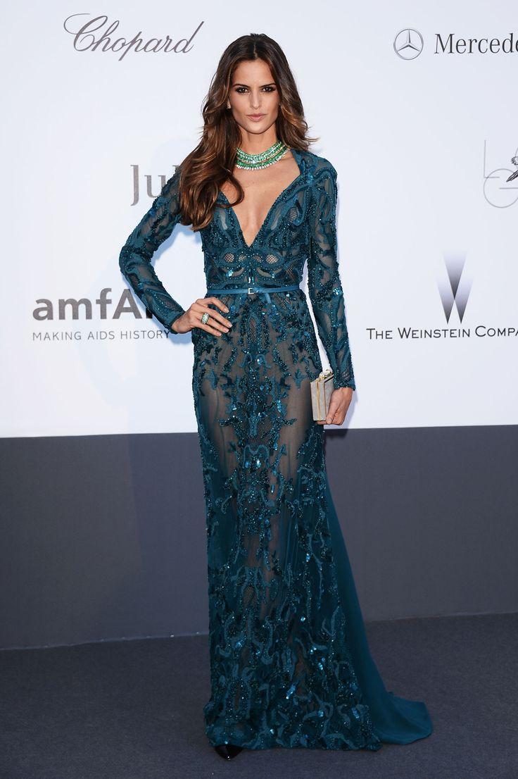 Изабель Гулар на ежегодном вечере amfAR в Каннах, 2013 год