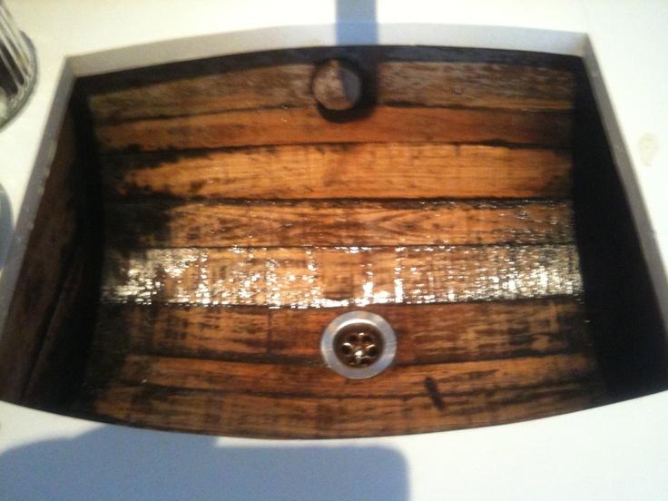 Best 25 Whiskey Barrel Sink Ideas On Pinterest Wine Barrel Sink Man Cave Origin And Wine