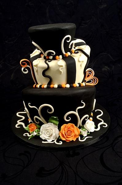 226 Best Gothic Wedding Cakes Images On Pinterest Cake