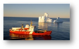 CCGS Martha L. Black  Class: High Endurance Multi-Tasked Vessel. A large, highly adaptable multi-tasked ship with capacities for icebreaking in the south and western Arctic and, for escort operations in the Great Lakes, St. Lawrence Seaway and Atlantic coast. Home port: Québec, Que.  Length: 83.0 m   Beam: 16.2 m  Gross tonnage: 3818 t  Crew/officer capacity: 26 Cruising speed: 14kts  Builder: Versatile Pacific Shipyard Inc.     Launched: 1985 Status: In service