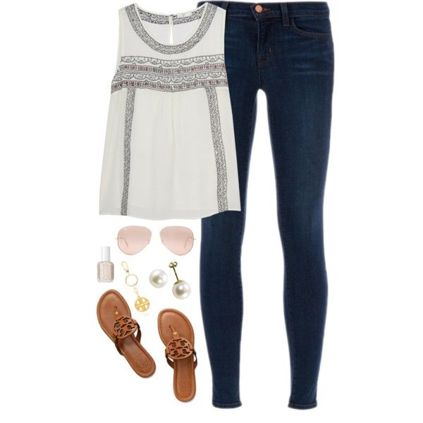 """""""end of spring break"""" by classically-preppy on Polyvore"""