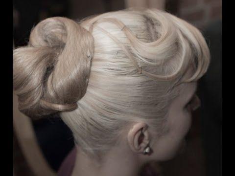 Ballroom Basics: The High Bun! - YouTube