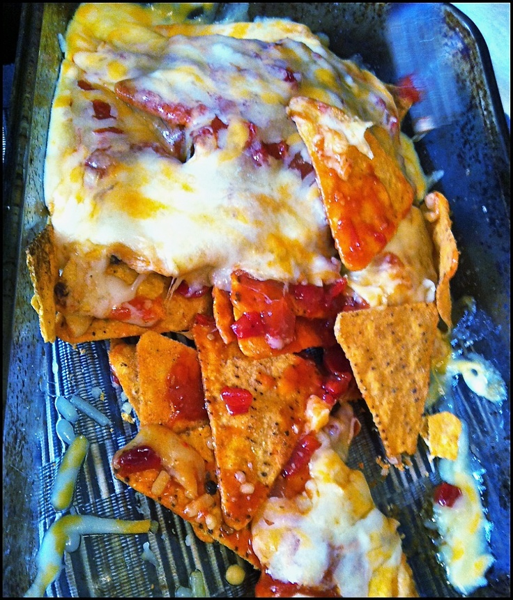 Frank nachos