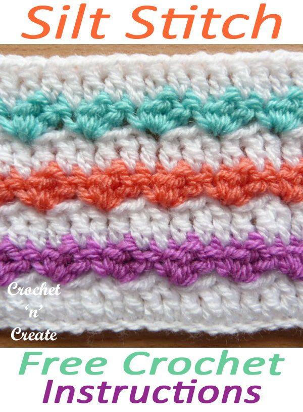 Silt Stitch Written Crochet Tutorial Crochet Love Pinterest