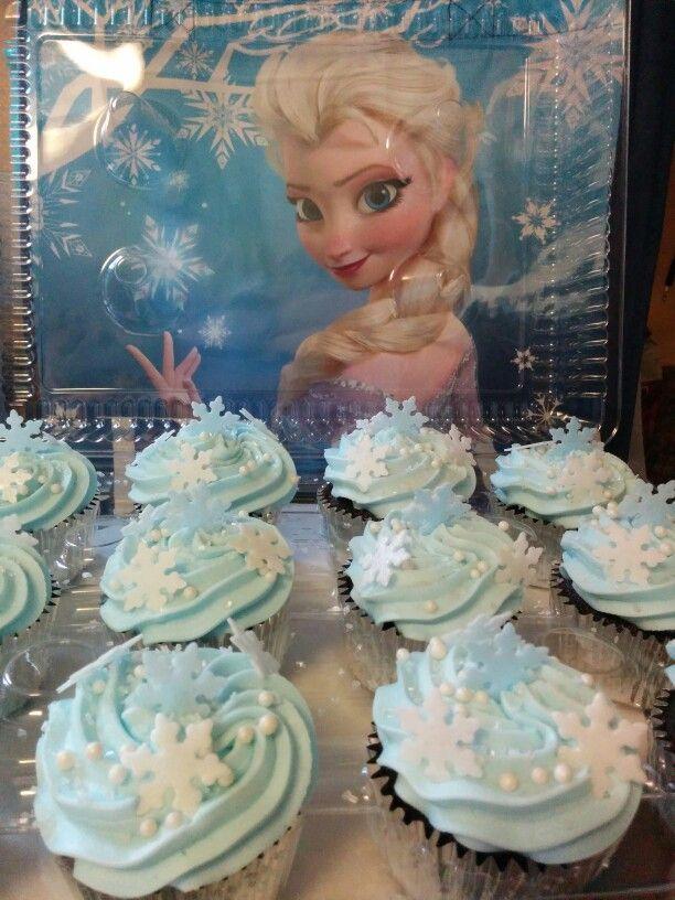 "Frozen Cupcakes Snowflake ""Frozen"" Sno..."