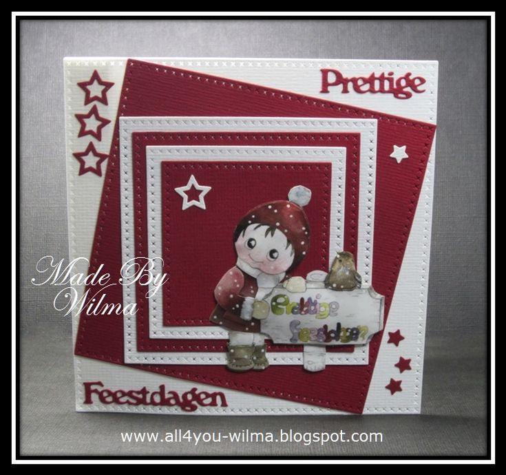 Christmas Card 03-2018: http://all4you-wilma.blogspot.nl/2018/02/prettige-feestdagen.html