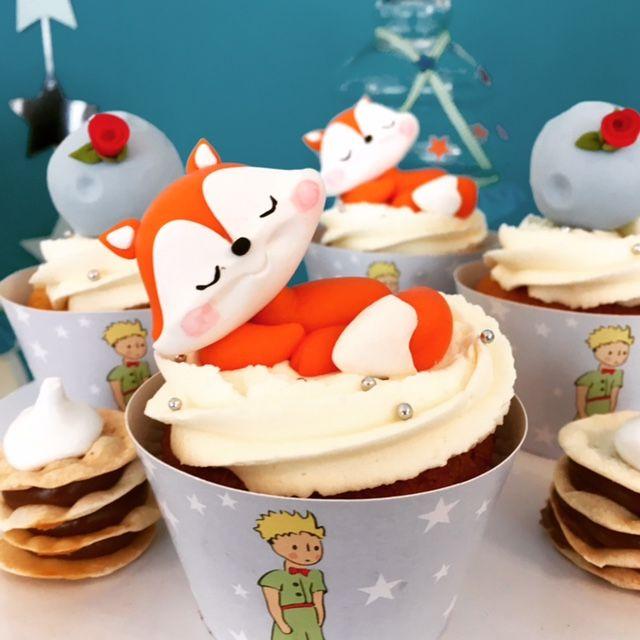Little Princess - El Principito Cupcakes  Violeta Glace